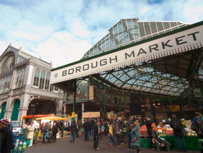 The mother of all London food markets and the source of inspiration for the creators of Eataly: Borough Market. (Photo: Borough Market)