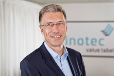 Dr. Ulf Sparka from Inotec Barcode Security GmbH; copyright: Inotec