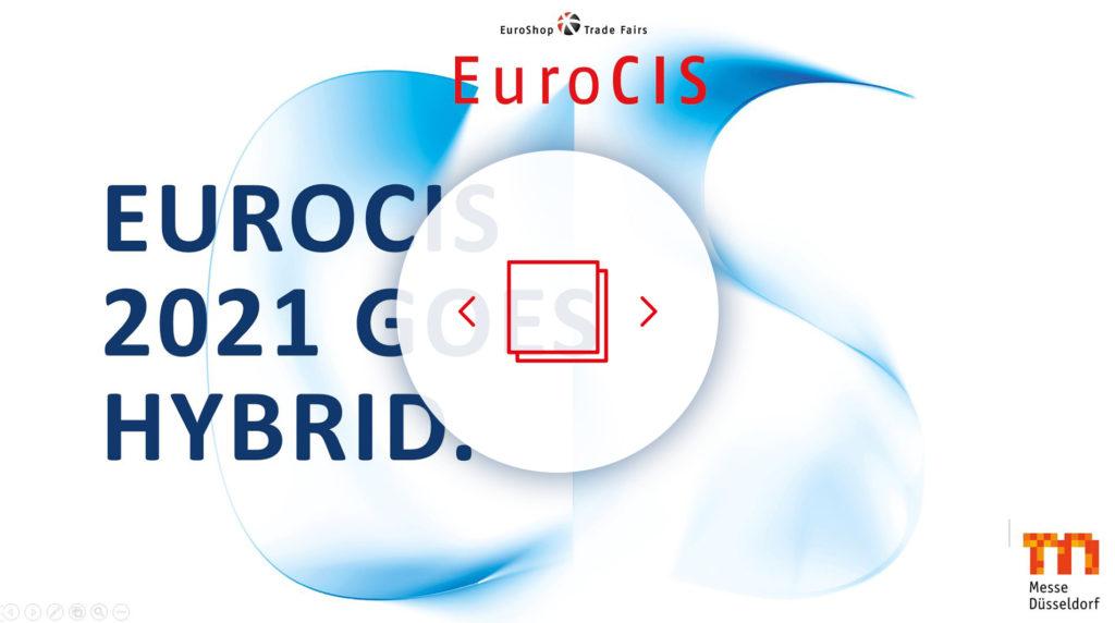 Logo und Branding der EuroCIS V-Connect