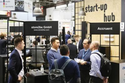 Start-up hub @ EuroCIS 2019: After the successful debut last year, the Start-up hub has grown yet again and is booked up with 15 participating companies.