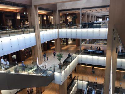 Shopping Mall in Tokyo; copyright: Messe Düsseldorf Japan / Moerke
