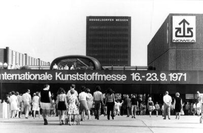 Messegelände 1971 (Quelle: Messe Düsseldorf)