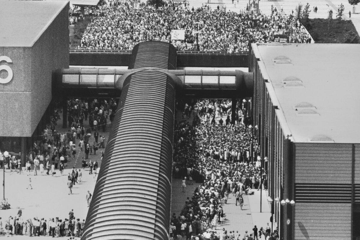 50 years – Happy Birthday Exhibition Centre Düsseldorf!