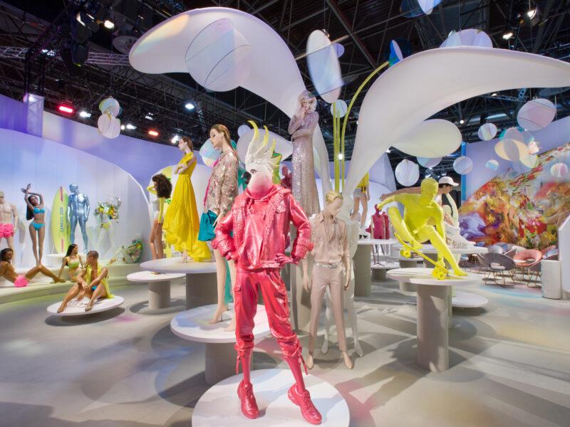 Plastics make the mannequins' world go round!