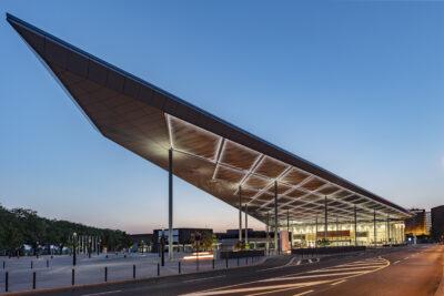 Baudokumentation Messe Düsseldorf - Eingang Süd und Halle 1