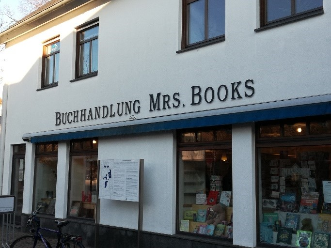 Mrs.Books view from the outside