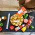 Kassenband mit Lebensmitteln von oben fotografiert; copyright: girocard