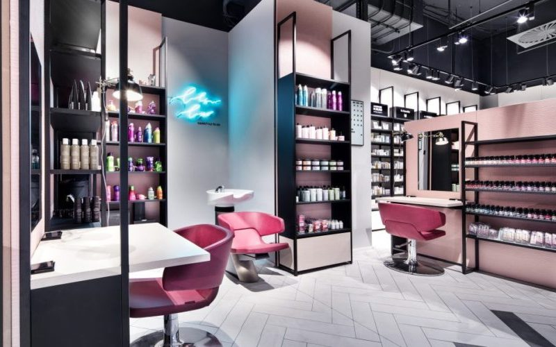 The unique store of Mußler Beauty by Notino