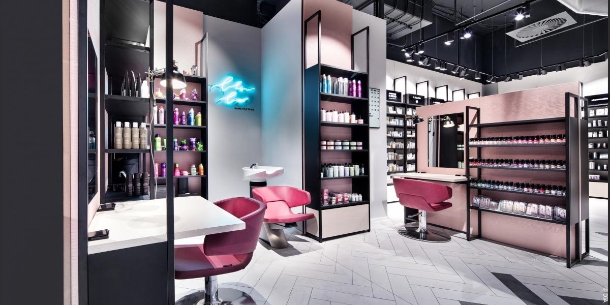Friseursalon von Innen © Dittel Architekten GmbH