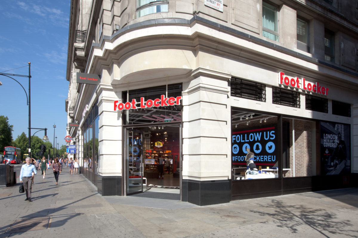 Reopening: Foot Locker in London
