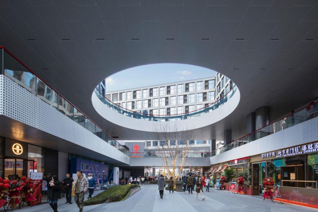 Inside view of Starry Street in Wuhou