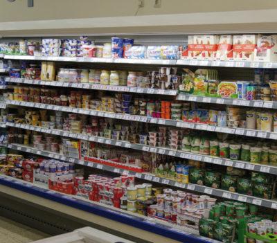 Kühlregal im Supermarkt; copyright: Dr. Steinmaßl Managementberatung