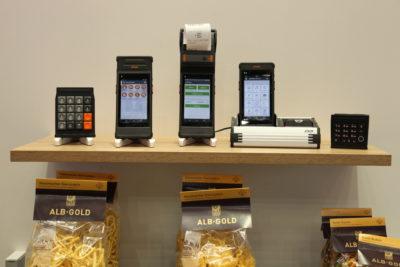 Bild: mobiler Arbeitsplatz mit Handheld Computern; Copyright: iXtenso