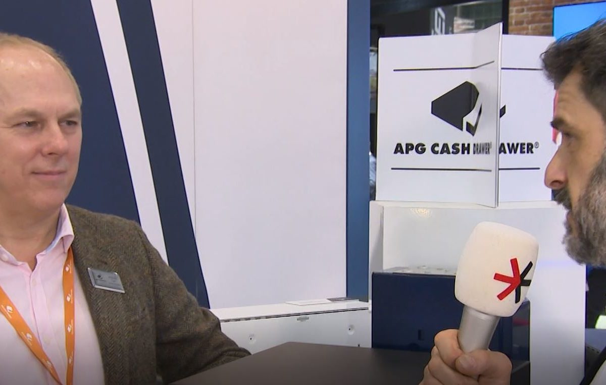 Cash drawers are innovative – APG at EuroShop 2020