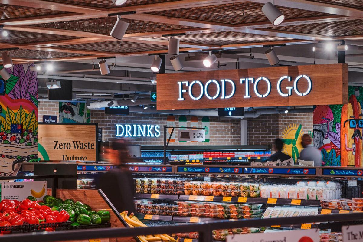 Aldi Australia: Colorful Corner Store