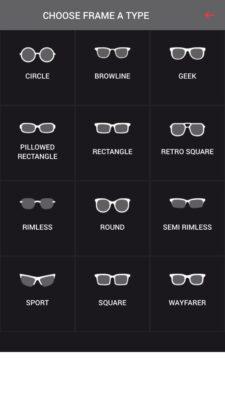 Eine Übersicht von zwölf verschiedenen Brillenmodellen