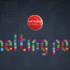 Banner mit Aufschrift Melting Pot