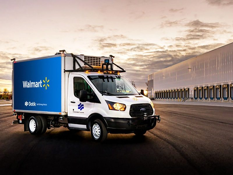 Walmart and Gatik go driverless in Arkansas
