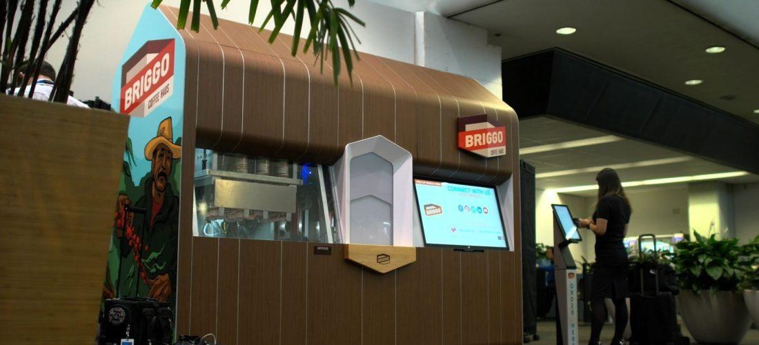 Robotic Coffee Haus at San Francisco International Airport