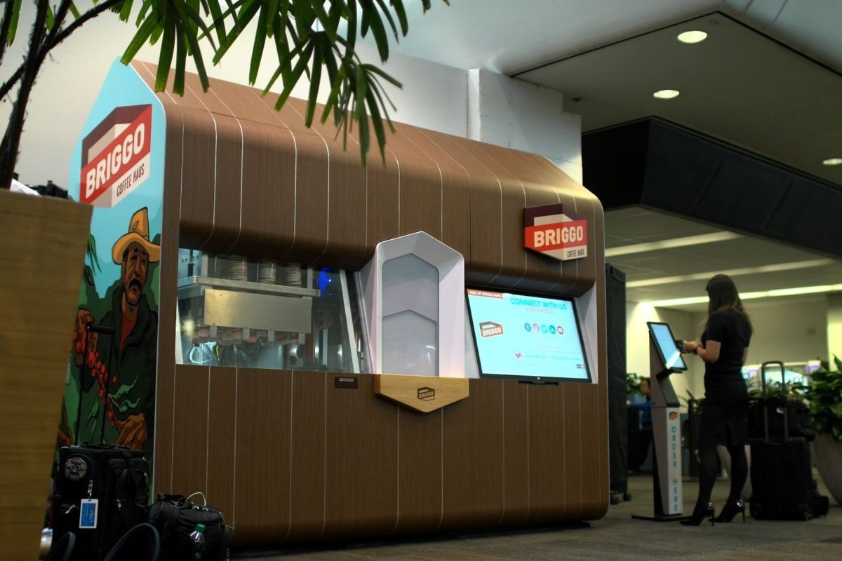Robotic Coffee Haus at San Francisco International Airport