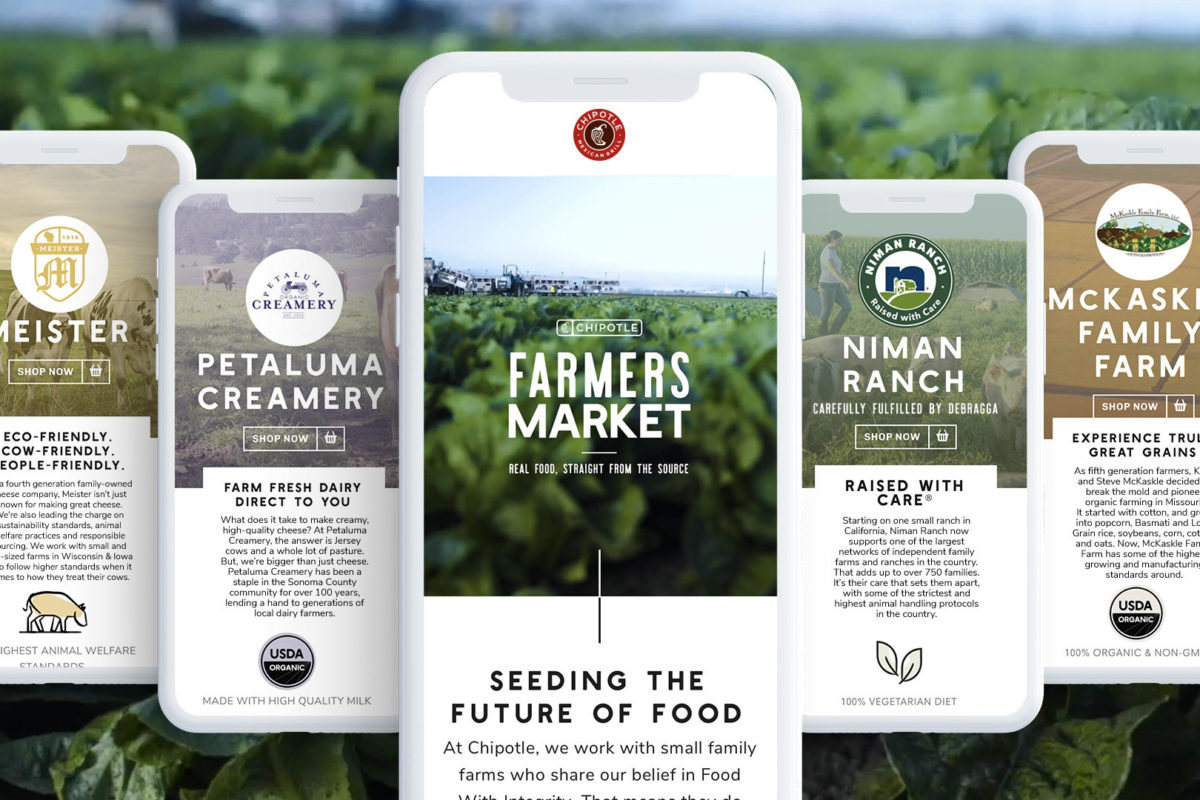 Virtual Farmers' Market announced by Chipotle