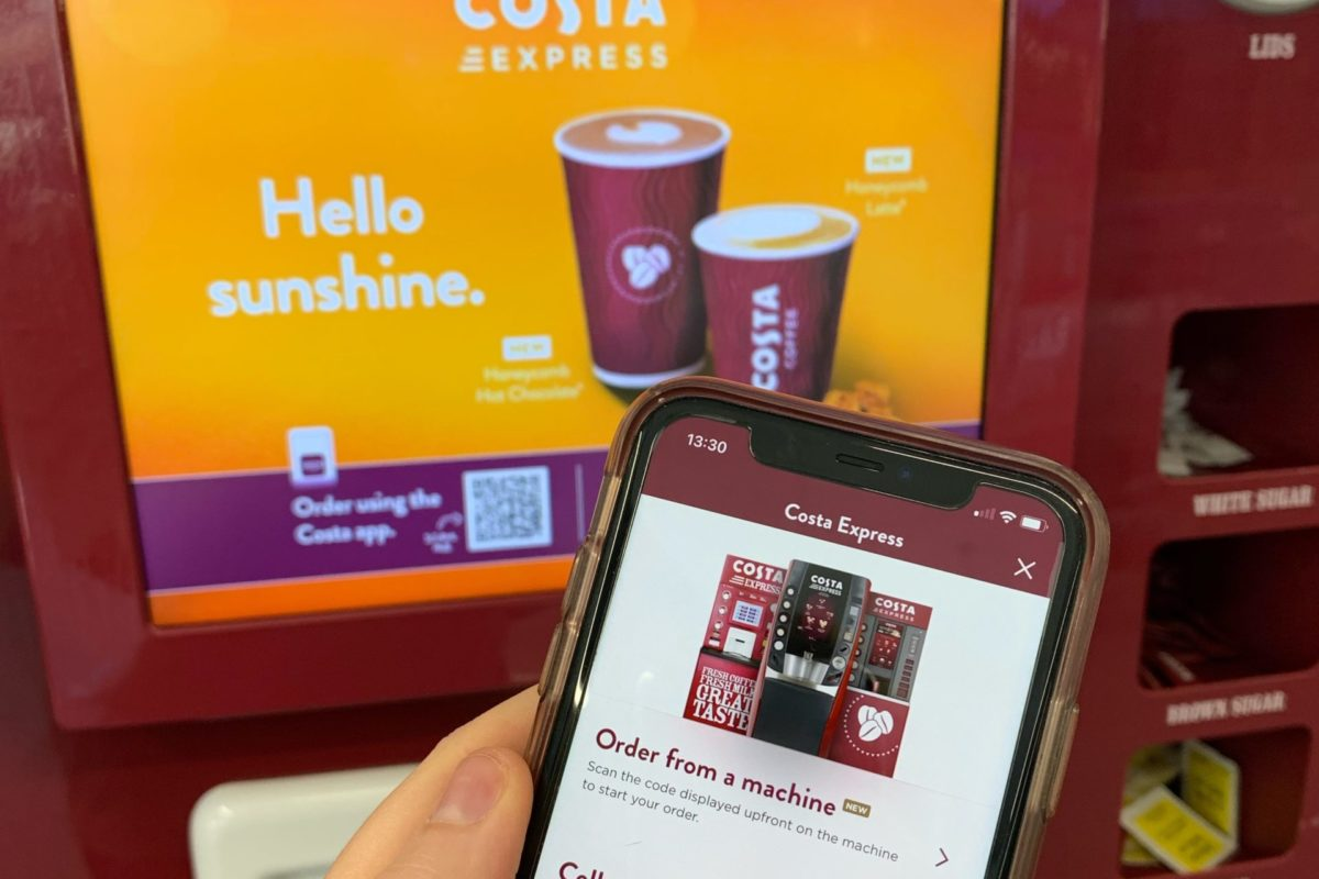 Costa Express introduces contactless ordering system across 9,000+ coffee bars