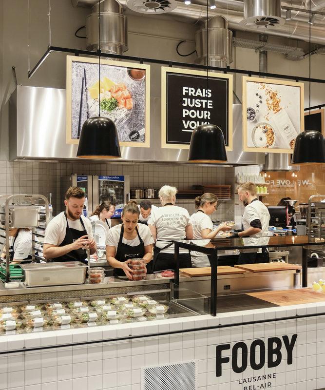 FOOBY Lausanne, © Coop Schweiz
