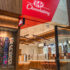 Newly designed kitkat chocolate store, view from outside