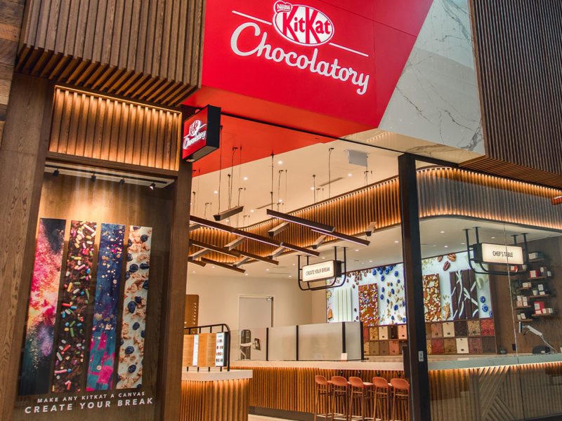 Design award for new KitKat Chocolatory at Yorkdale Shopping Centre