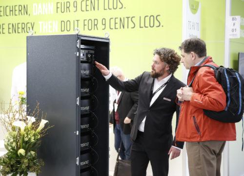 Fachgespräch auf der Energy Storage Europe