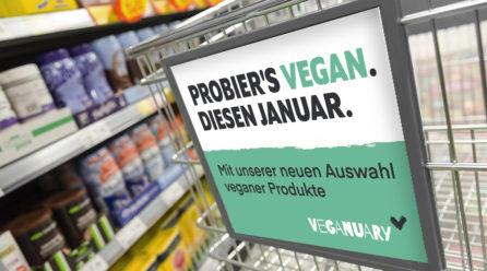Deutscher Einzelhandel folgt Veganuary in 2020