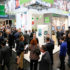 Visitors and booths at EuroCIS 2018; copyright: Messe Düsseldorf / ctillmann