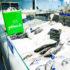 Grüne Getnow-Tasche auf einer Fischtheke; copyright: Getnow New GmbH
