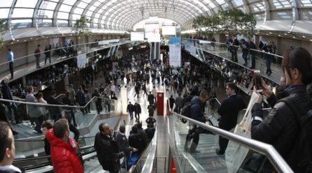Deutschland: Leitmesse-Standort dank internationaler Besucher