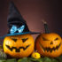 Carved Pumpkins and Halloween Decoration; copyright: PantherMedia/Sebastian Duda