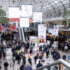 Entrance hall of Messe Dusseldorf at the EuroShp 2020