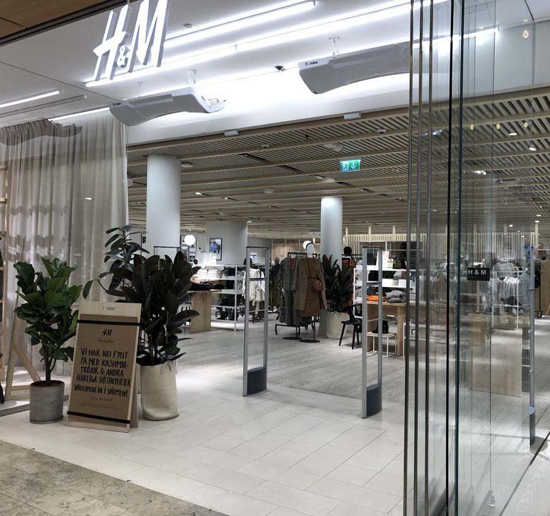 H&M, stockholm, pilot store, EuroShop