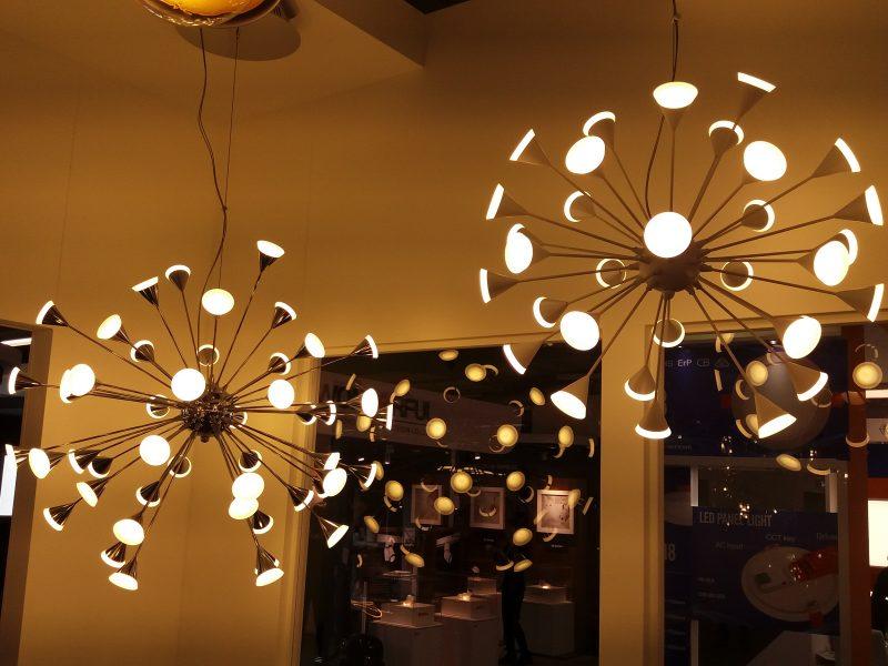 Dekorative Leuchten für den Store