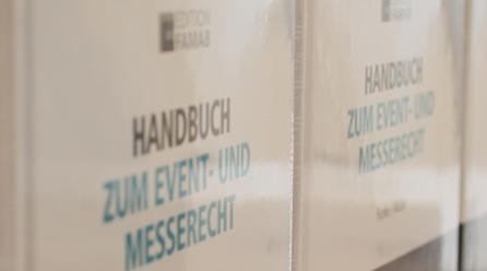 Vierte Auflage des Handbuchs zum Event- und Messerecht