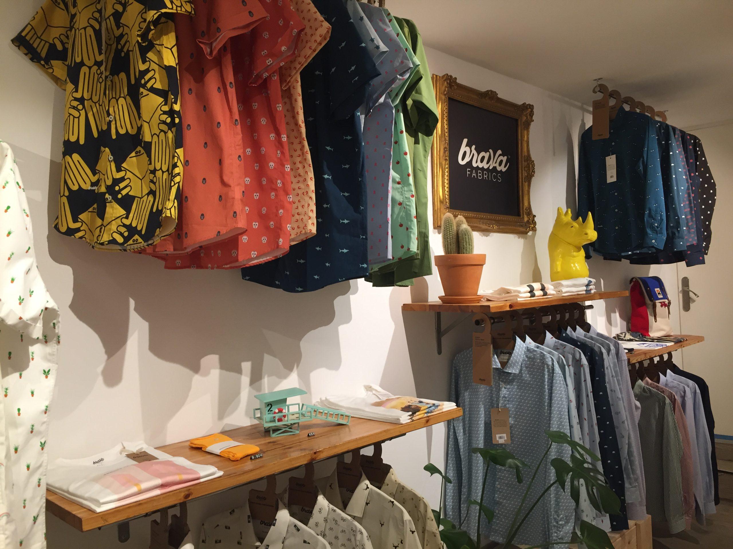 Storedesign_Brava Fabrics_Barcelona