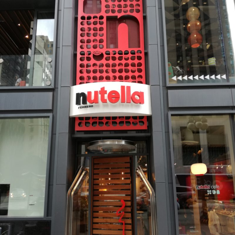 Nutella Cafe Chicago, © Messe Düsseldorf
