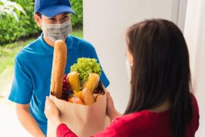 Lebensmittelgeschäft im Internet boomt weltweit
