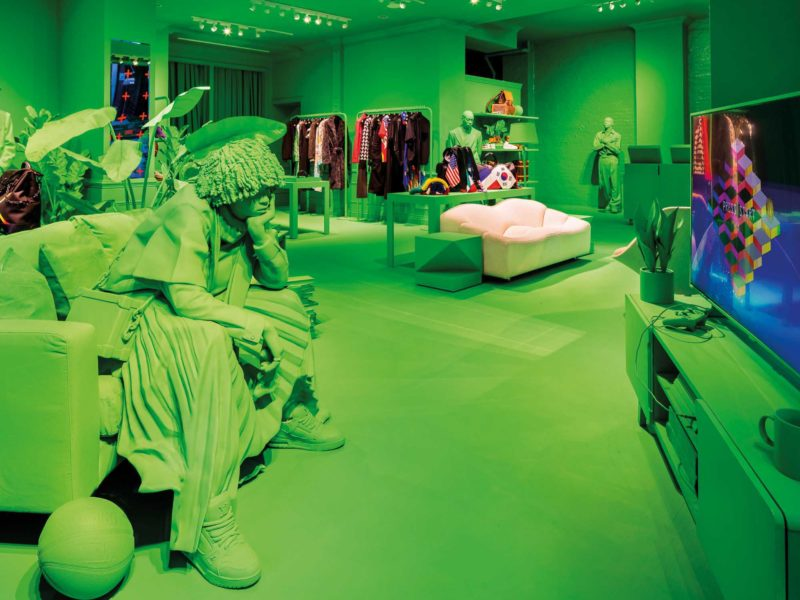 Space becomes design! A stroll through the international retail scene