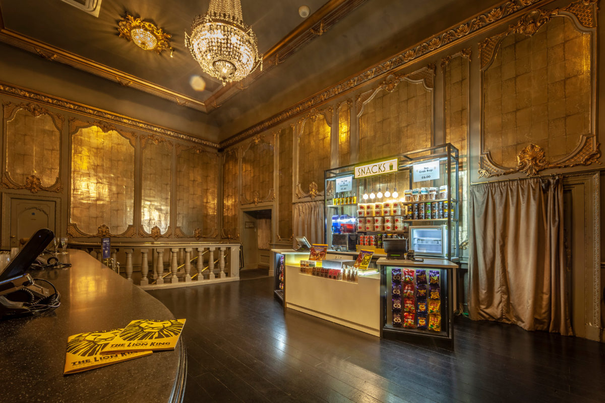 Site specific food kiosks at key London theatres