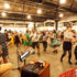 Mercato Metropolitano: Guests of the food hall are dancing Lindy hop between mozzarella and gelato booths (Photo: Saramontali)