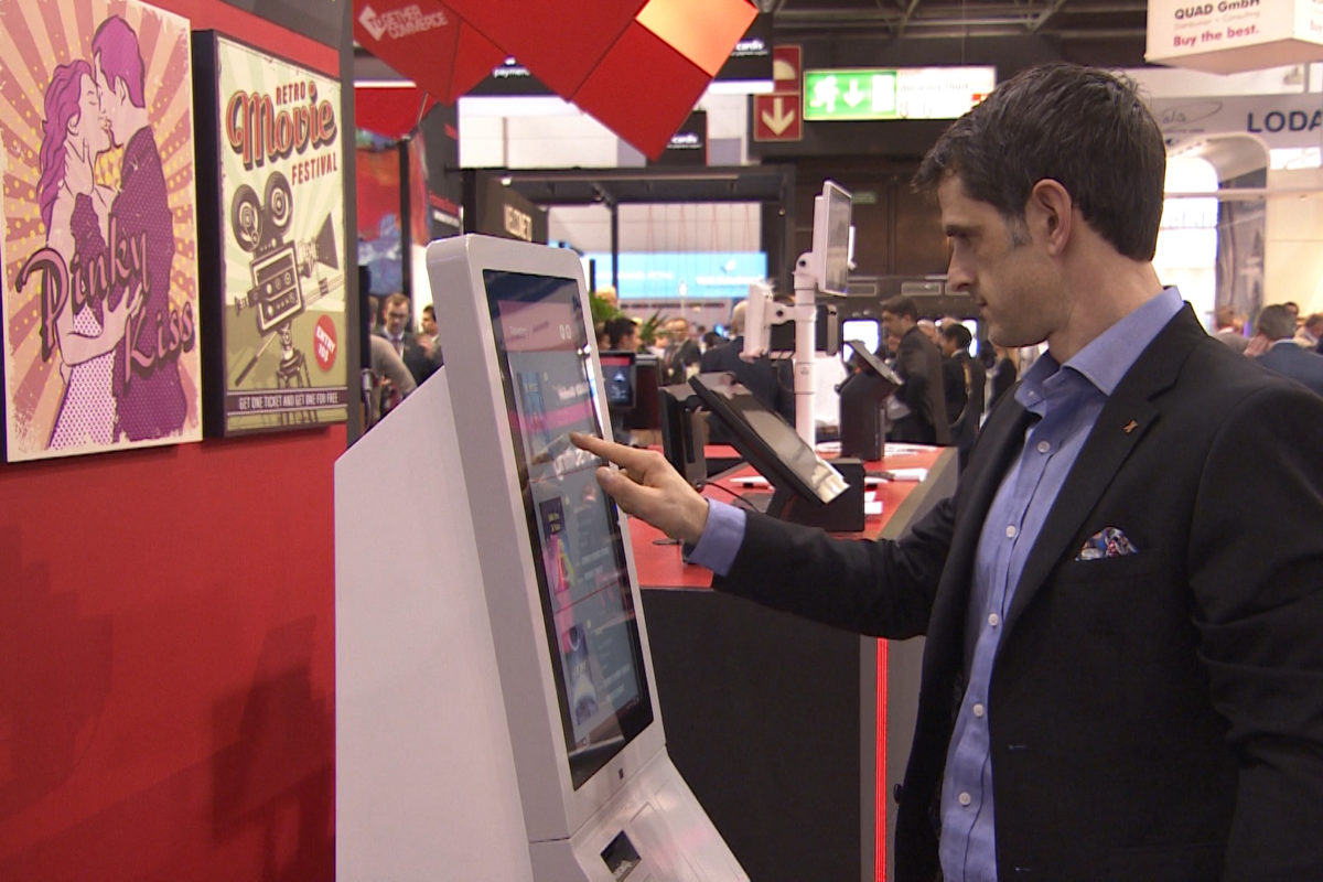 Posiflex: interactive self-service kiosk systems for the POS