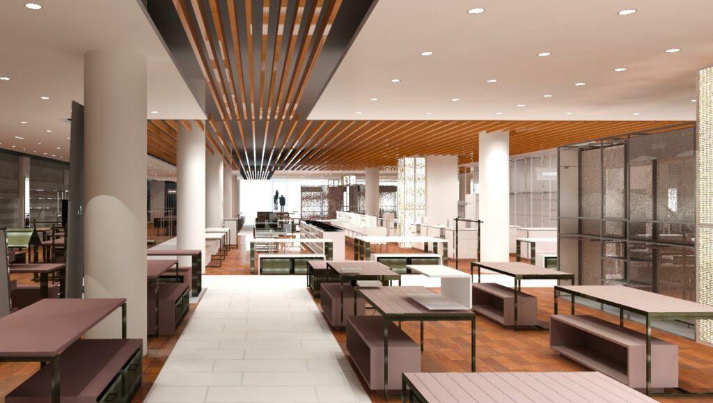 Storedesign von Peek&Cloppenburg der Filiale in Kiel