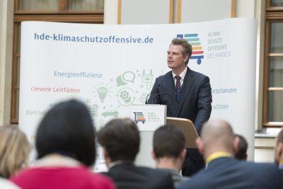 Lars Reimann, Abteilungsleiter Umwelt/Energie beim HDE © HDE