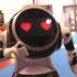Bild: Roboter mit Herzchen als Augen; Copyright: beta-web GmbH