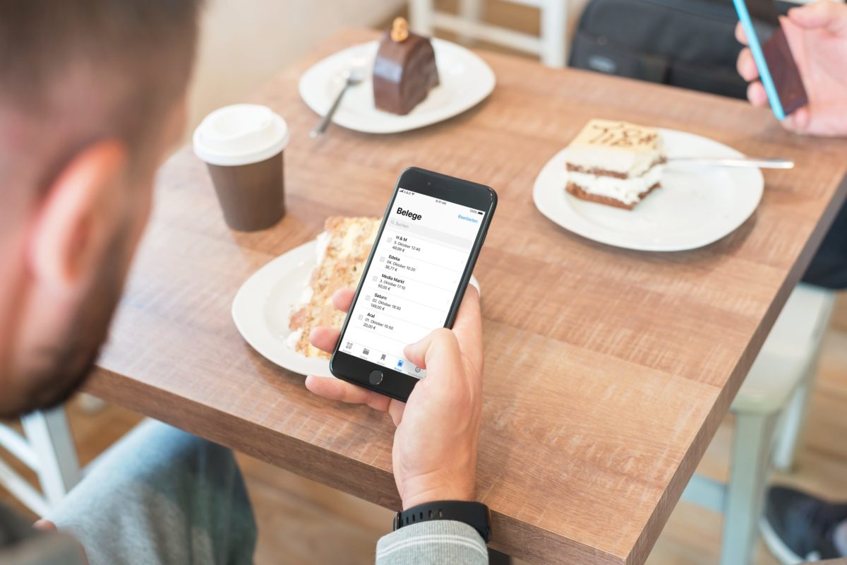 Goodbye paper receipts: all documents stored in one app